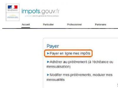 Avis d'imposition, modalités de paiement de l'impôt sur les revenus et correction en ligne