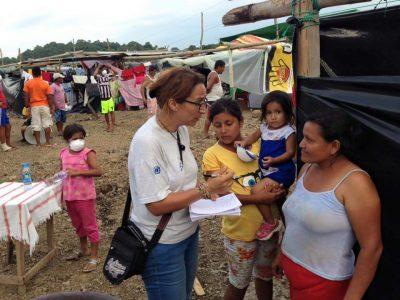 Myriam et les femmes courage de l'Amazonie équatorienne.