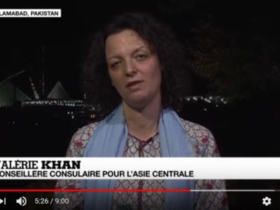 Valérie Khan, Conseillère consulaire au Pakistan (Asie Centrale) et activiste des droits humains s'exprime sur la situation d'Asia Bibi au Pakistan.
