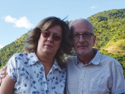Mikel Orue et  Brigitte Saiz, Venezuela