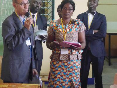Christian Pialot, 27 ans au Cameroun