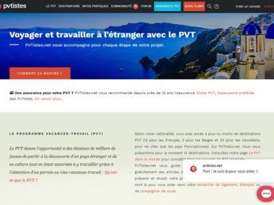 Le programme vacances travail (PVT)