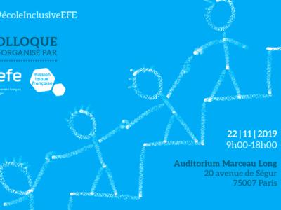 L'AEFE et la Mlf organisent un colloque autour de la dynamique d'inclusion scolaire dans le réseau d'enseignement français à l'étranger