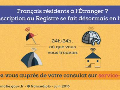 Pourquoi et comment s'inscrire au Registre des français établis hors de France ?