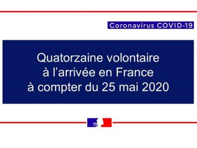 #Covid19 : Voyageurs arrivant en France : qui est concerné par la quatorzaine ?