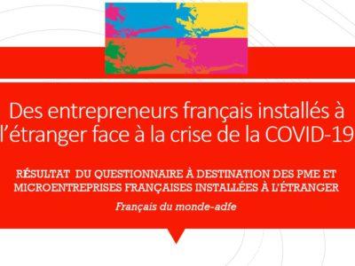 Résultat du questionnaire de Français du monde-adfe à destination des PME et micro-entreprises installées à l'étranger